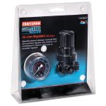 Air Compressor Pressure Regulator and Gauge