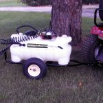 Lawn Tractor Lawn Sprayer Attachment