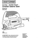 Sabre Saw Owner's Manual