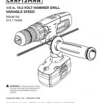 Hammer Drill Owner's Manual