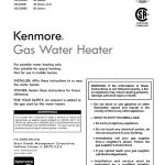 Water Heater Owner's Manual