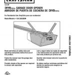 Garage Door Opener Owner's Manual
