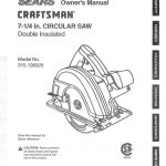 Circular Saw Owner's Manual