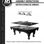 Pool Table Owner's Manual