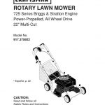 Lawn Mower Owner's Manual