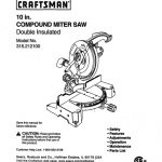 Miter Saw Owner's Manual