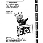 Snowblower Owner's Manual