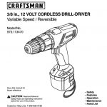 Drill/Driver Owner's Manual