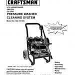 Pressure Washer Owner's Manual