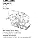 Sander Owner's Manual