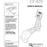 Elliptical Owner's Manual