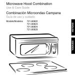 Microwave Owner's Manual