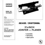 Jointer/Planer Owner's Manual