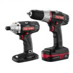 Craftsman Refurbished C3 Li-ion Drill and Impact Driver Kit
