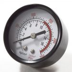 Air Compressor Pressure Gauge, 135-PSI