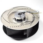 Downdraft Vent Blower Fan Assembly