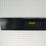 Wall Oven Control Panel (Black)