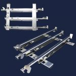 Range Oven Rack Guide Assembly, Left