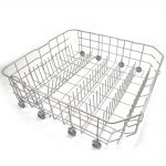 Dishwasher Dishrack Assembly, Lower