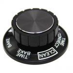 Range Oven Selector Knob (Black)