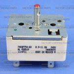 Range Surface Element Control Switch