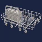 Dishwasher Dishrack, Lower