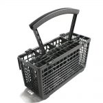 Dishwasher Silverware Basket Assembly