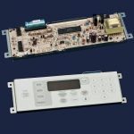 Range Oven Control Board and Overlay (White)