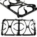 Double Burner Grate