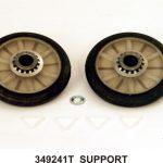 Dryer Support Roller Kit