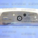 Washer Control Panel (White)