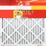DuPont High-Allergen Air Filter, 12 x 24 x 1, 4-pack