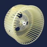 Room Air Conditioner Condenser Fan Blower Wheel