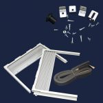 Room Air Conditioner Window Filler Kit