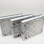 Furnace Air Filter, 20 x 25 x 5, 3-pack