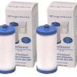 Refrigerator Water Filter, 2-pack