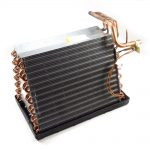 Central Air Conditioner Evaporator Coil and Drip Pan