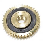 Cultivator Tine Shaft Worm Gear