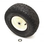 Lawn Tractor Mower Attachment Wheel Assembly
