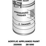 Appliance Spray Paint (Black)