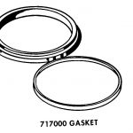 Dishwasher Wash Pump Gasket